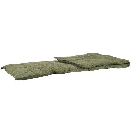 Roll mattress cushion - Olive
