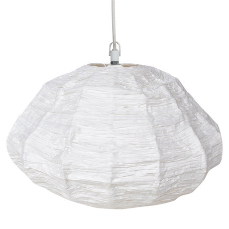 Hanging lamp cloud - Paper - White