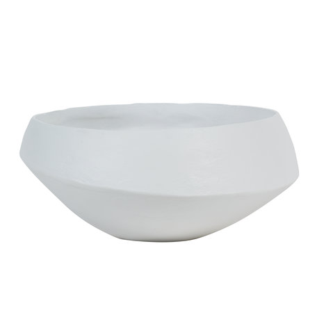Decorative bowl - Artistic - White