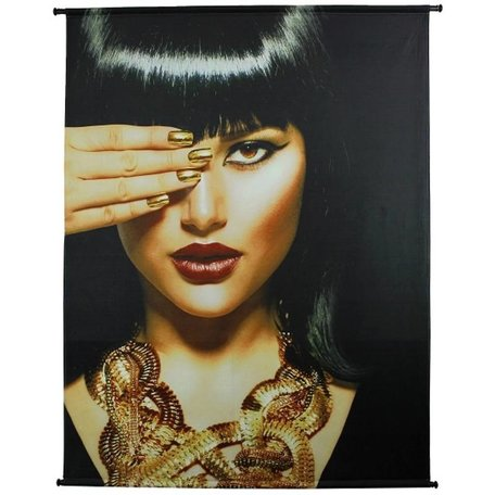Wandkleed fluweel - Cleopatra