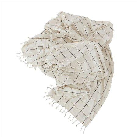 Bed cover Gobi - Grid - 270 cm x 270 cm