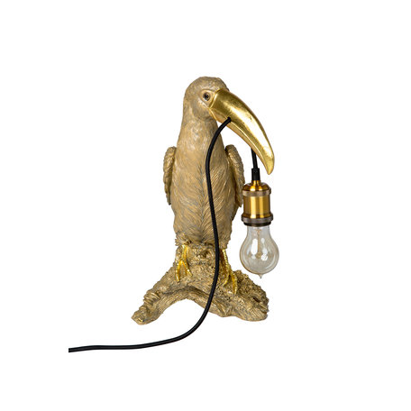 Table lamp toucan - Gold