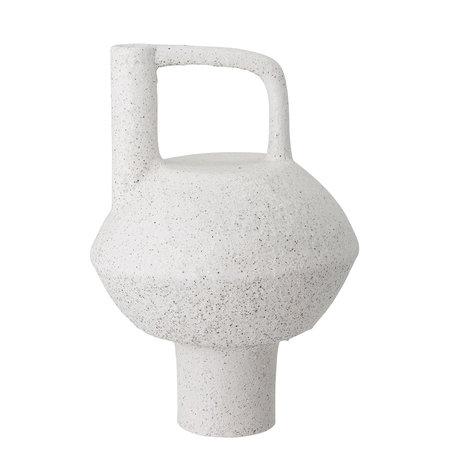 Vaas Loka - Sculpturale vaas met handvat