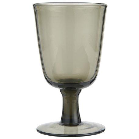 Wineglass on foot / Smoke - White wine