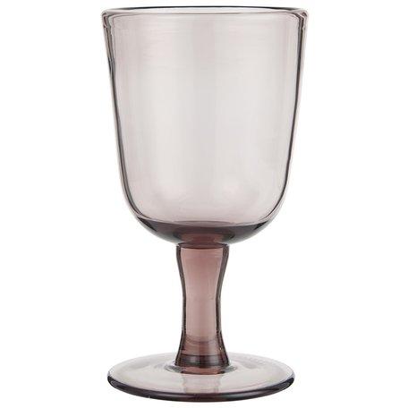 Wijnglas op voet / Malva  - Rode wijn
