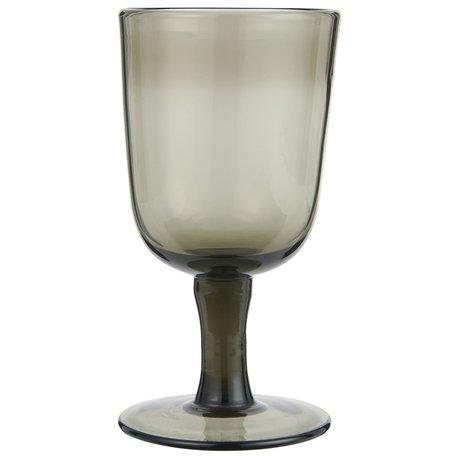 Wineglass on foot / Smoke - Red wine