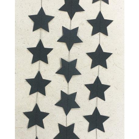 Garland star - ink paper