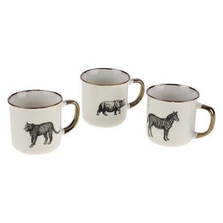 Mug Safari - Set of 3