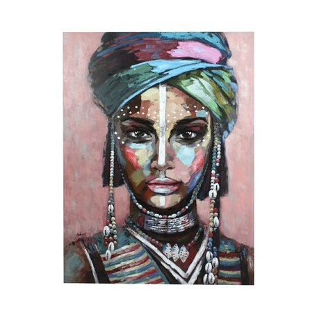 Canvas painting - African woman / Alika