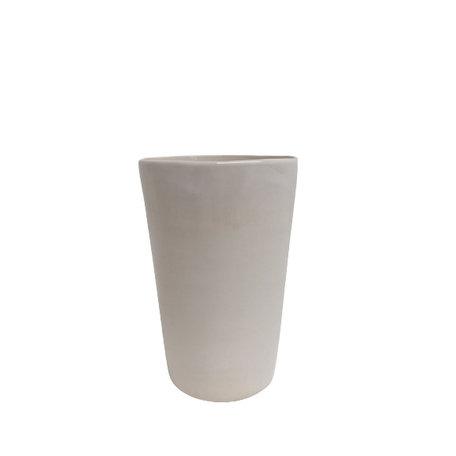 Ceramic cup - White