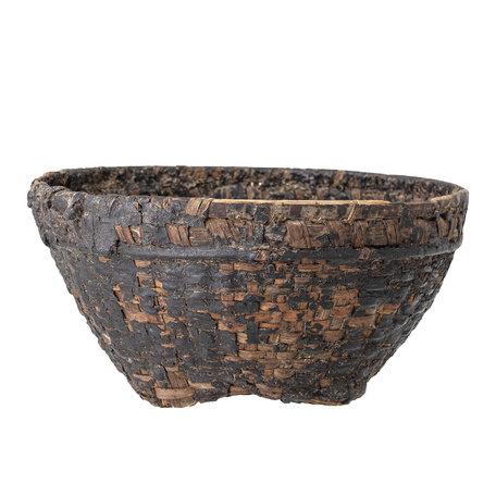 Deco basket - Brown