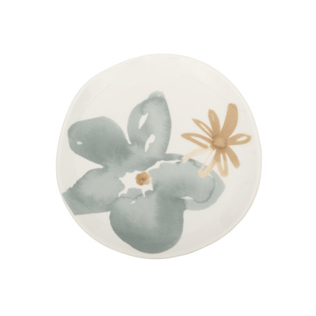 Goodmorning  plate - Floral
