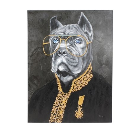 Canvas schilderij - Master Mastiff