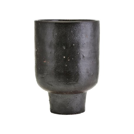 Outdoor pot Artist - Dark brown - Ø 22 cm