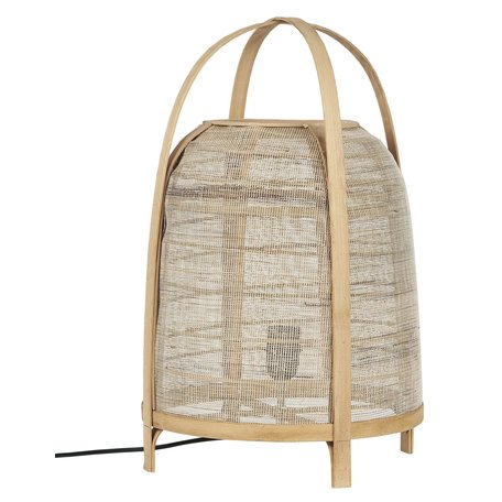 Bamboe Vloer / Tafel Lamp Hession