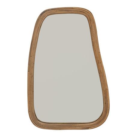Bamboo mirror - Natural - Large