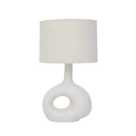 Tafellamp Soft Organic - Offwhite