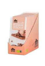 Nutridia Tablette chocolat au lait bio 100g 12 pièces