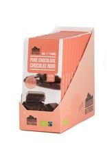 Nutridia Tablet pure chocolade 80% bio 100g 12 stuks