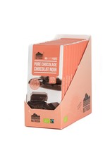 Nutribel Tablet pure chocolade 80% bio 100g 12 stuks