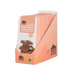Tablette chocolat lait de riz bio 100g 12 pièces