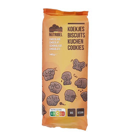 Nutridia Kinderkoekjes chocolade bio 150g
