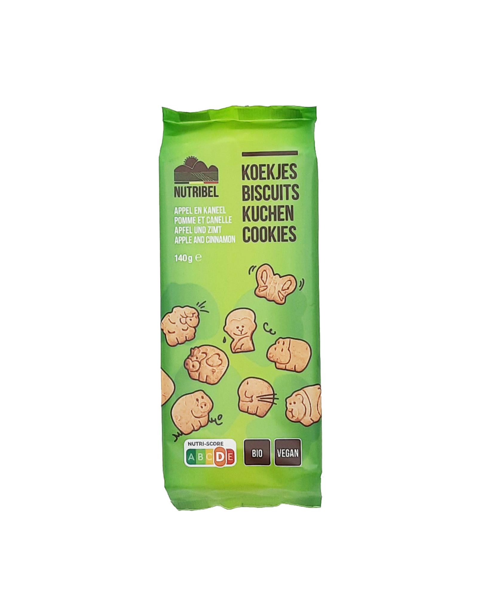 Biscuits enfants pomme canelle bio 150g
