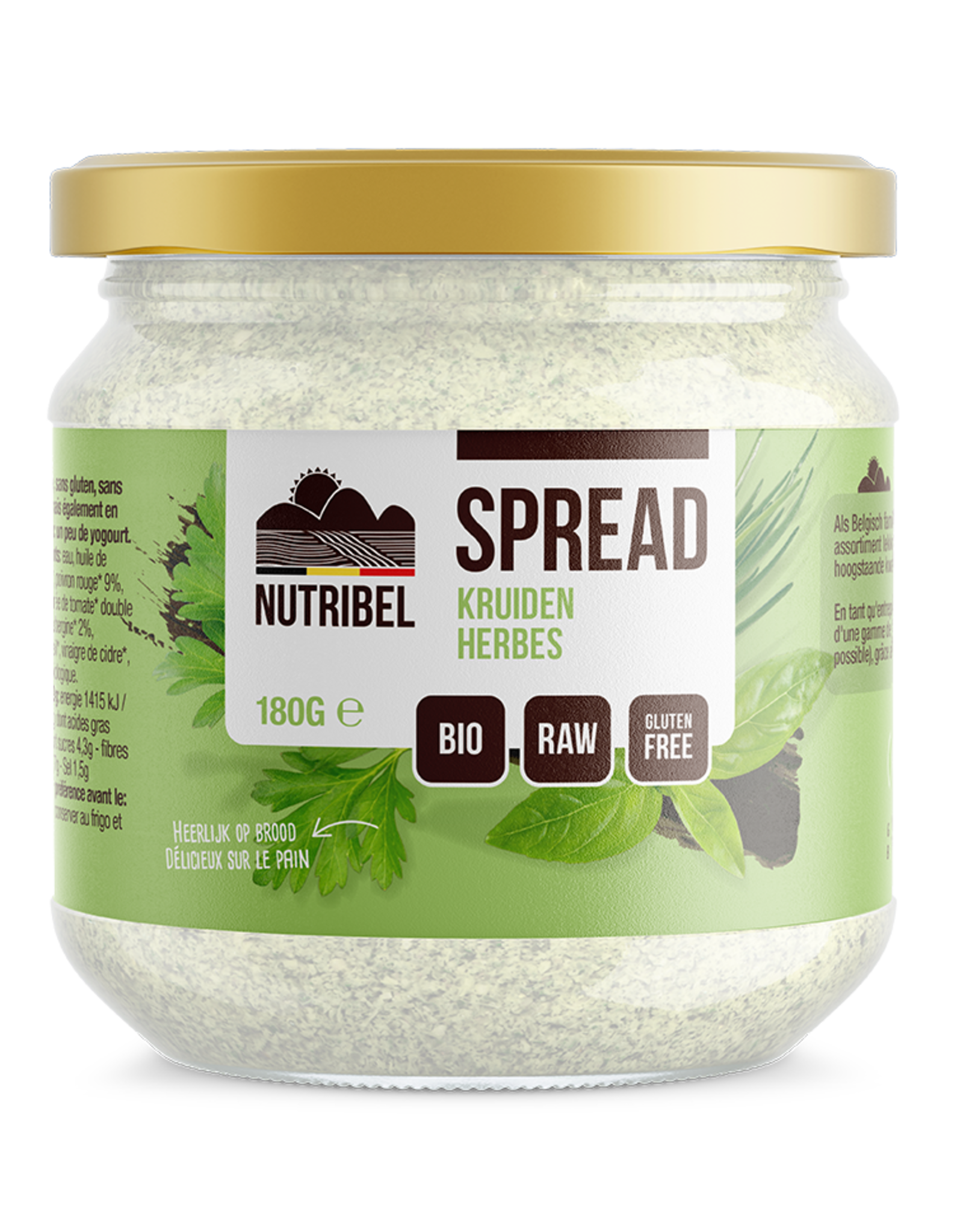 Herbes spread bio 180g