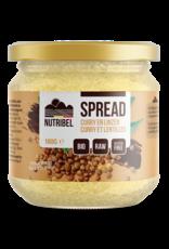 Curry-lentilles spread bio 180g