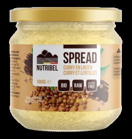 Curry-linzen spread bio & glutenvrij 180g
