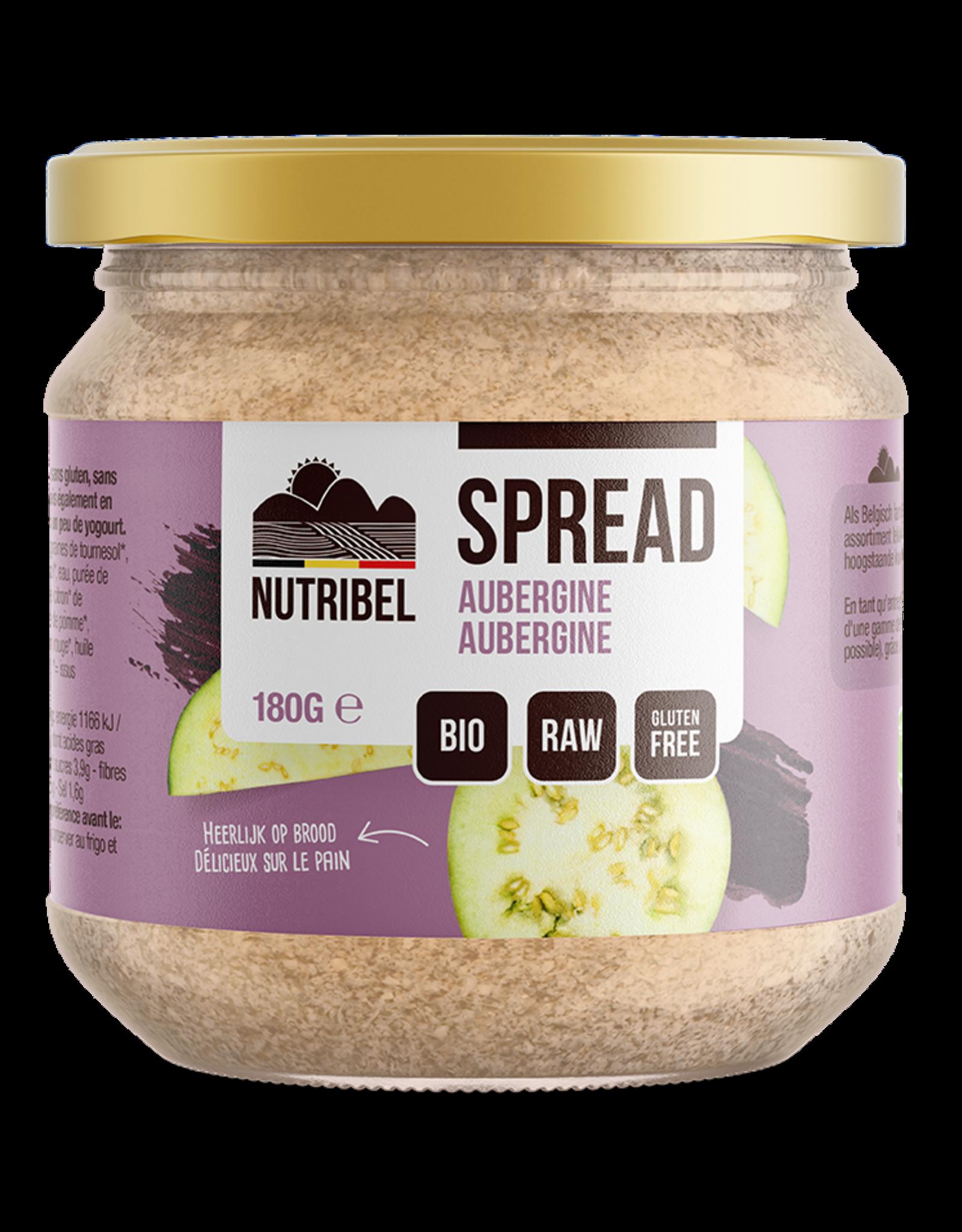 Aubergine spread bio & glutenvrij 180g