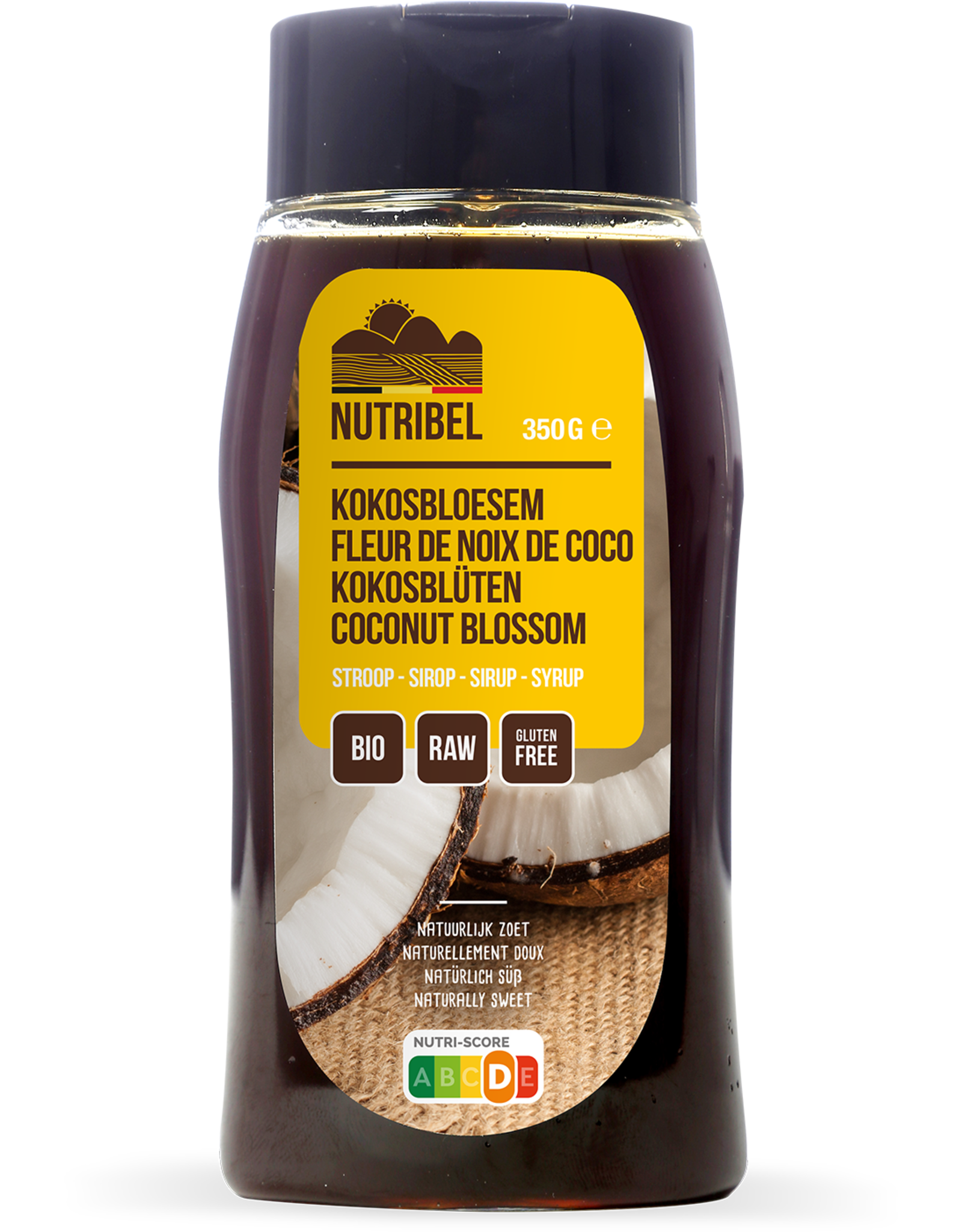 Nutribel Sirop de noix de coco bio 350g