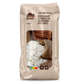 Rijstvlokken bio & glutenvrij 400g