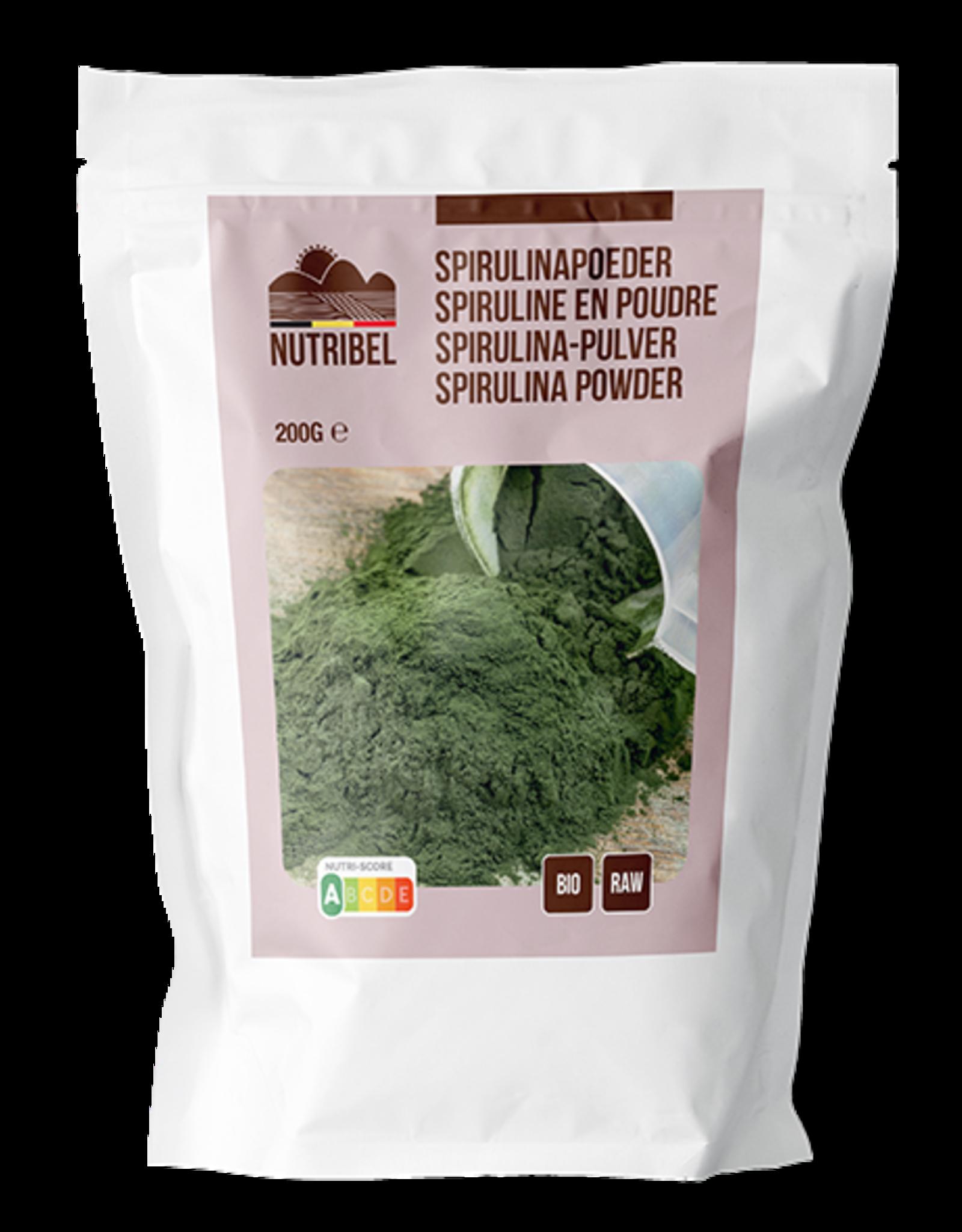 Nutribel Spirulina poeder bio & raw 200g