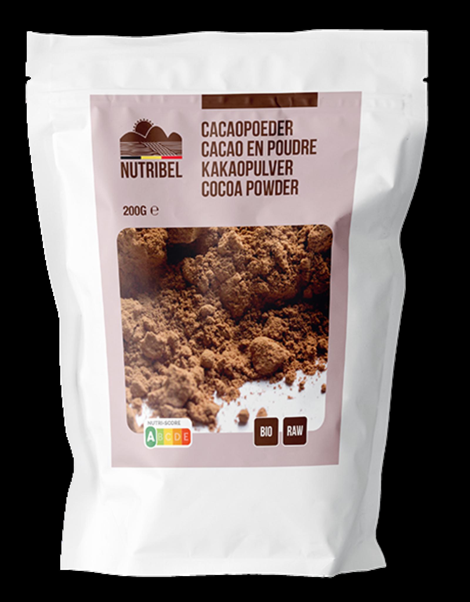 Nutribel Cacao poeder bio & raw 200g
