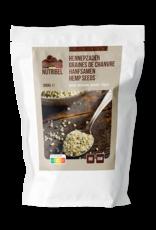 Nutribel Graines de chanvre pelées bio & raw 200g