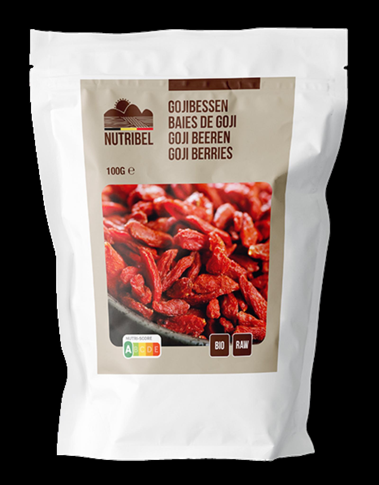 Nutribel Gojibessen bio & raw 100g