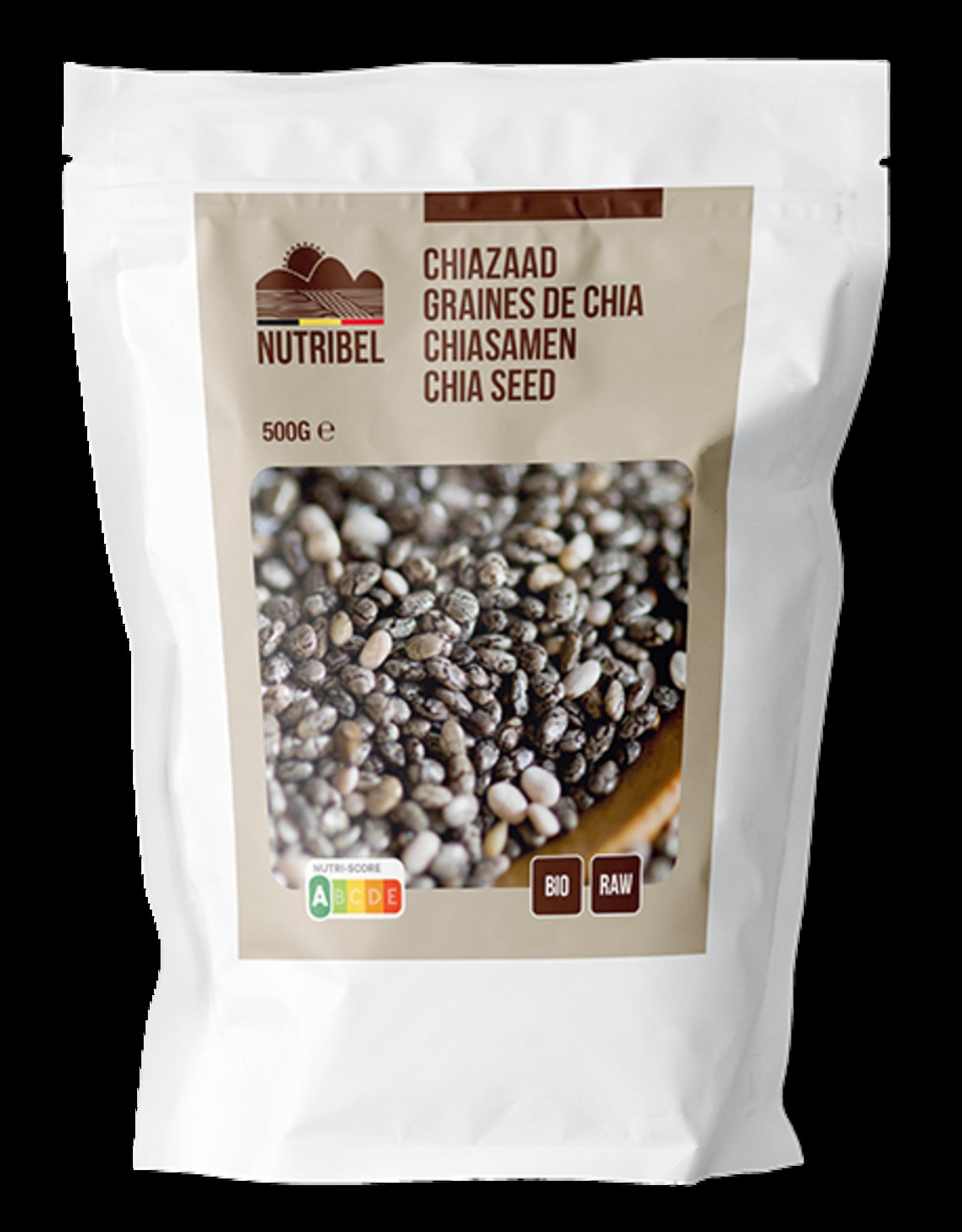 Nutribel Graines de chia bio & raw 200g - Copy