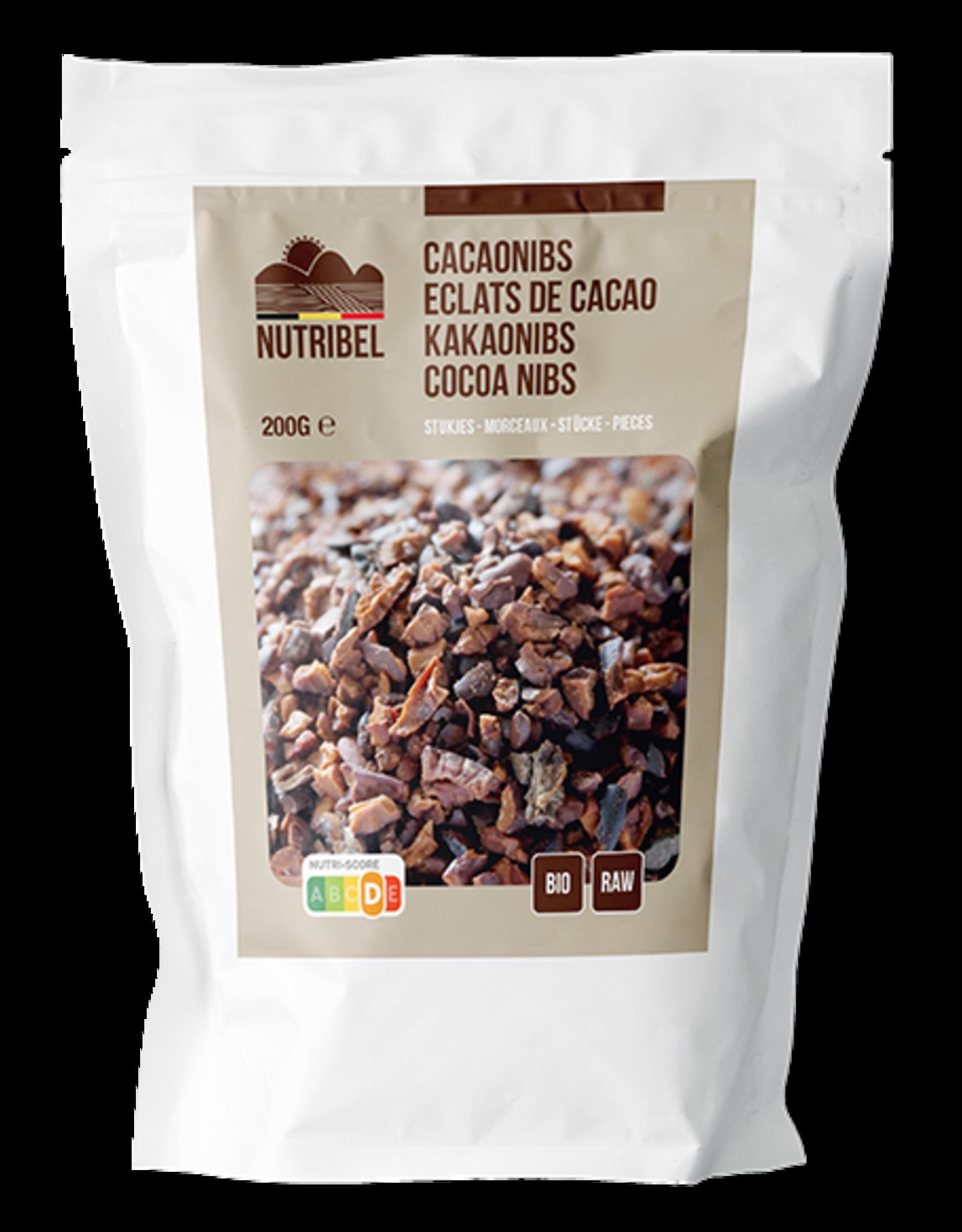 Nutribel Cacao nibs bio & raw 200g