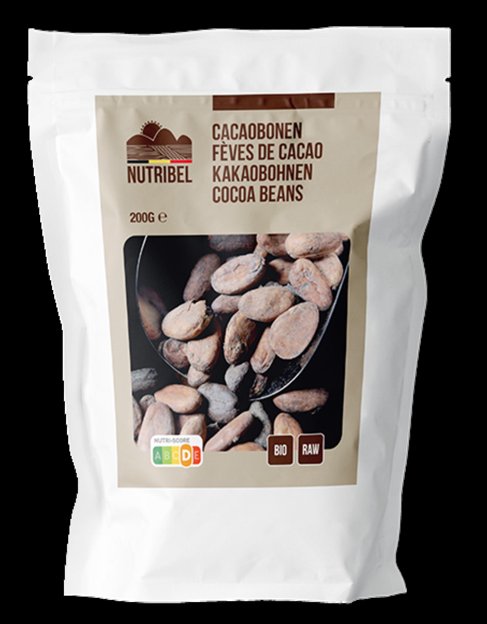 Nutribel Cacaobonen bio & raw 200g