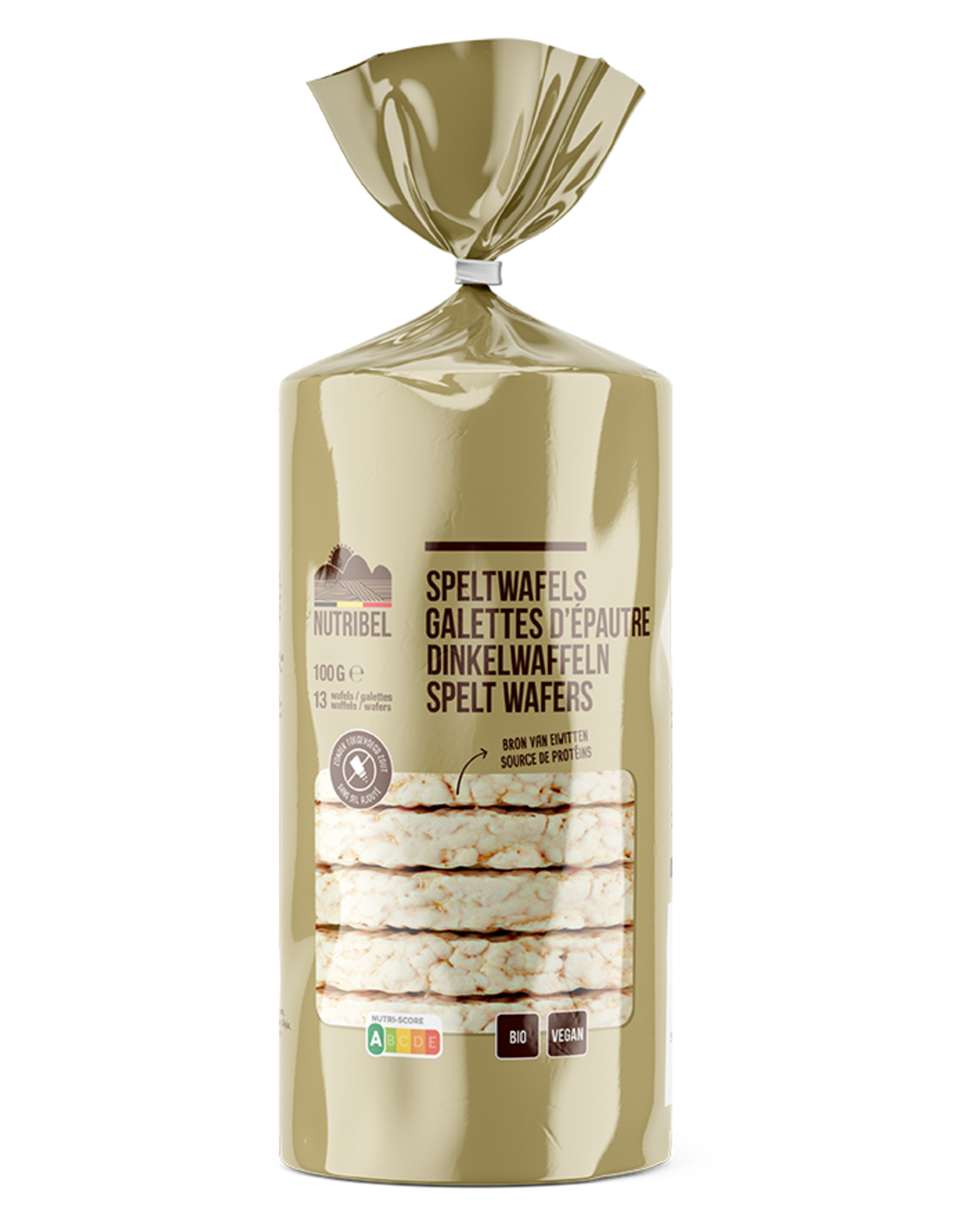 Nutribel Galettes d'epeautre ss bio 100g