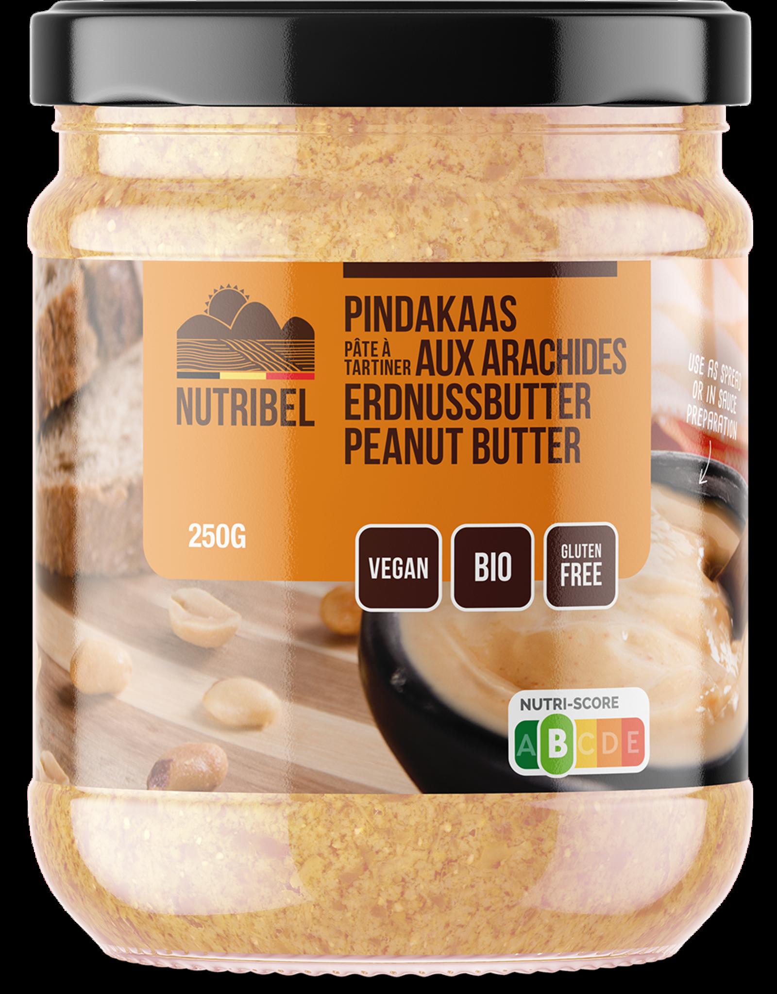 Nutribel Pindakaas bio 250g