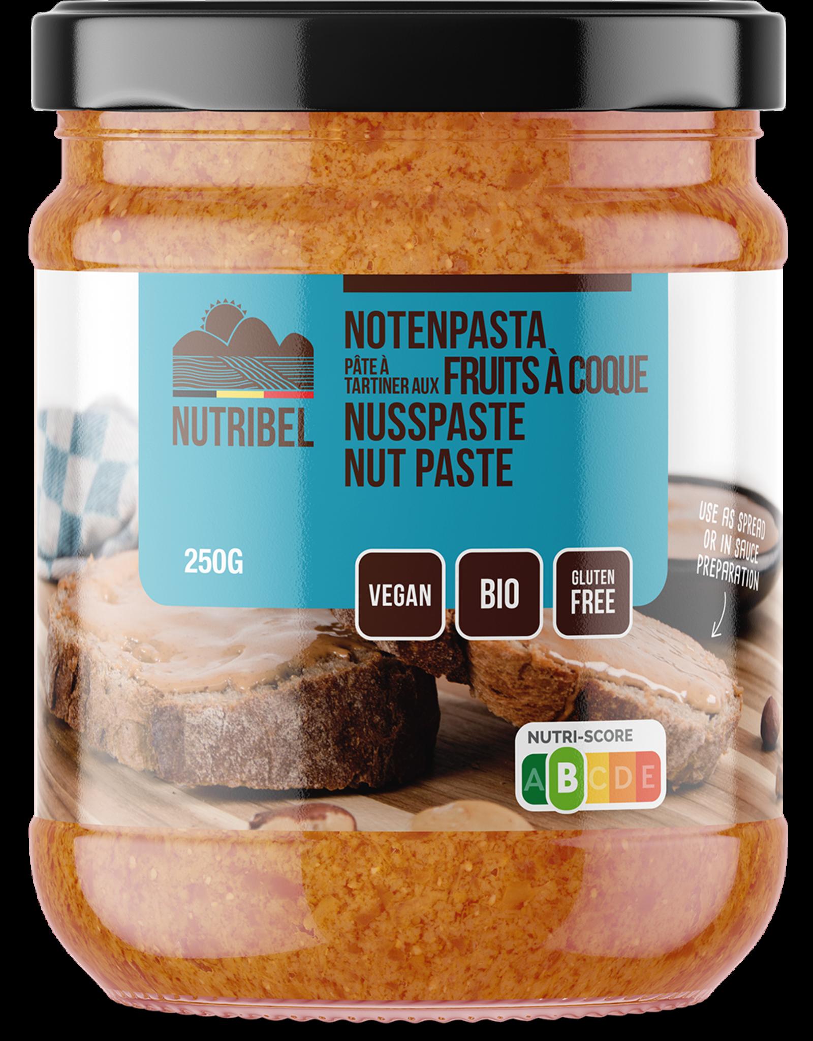 Nutribel Gemengde notenpasta bio 250g
