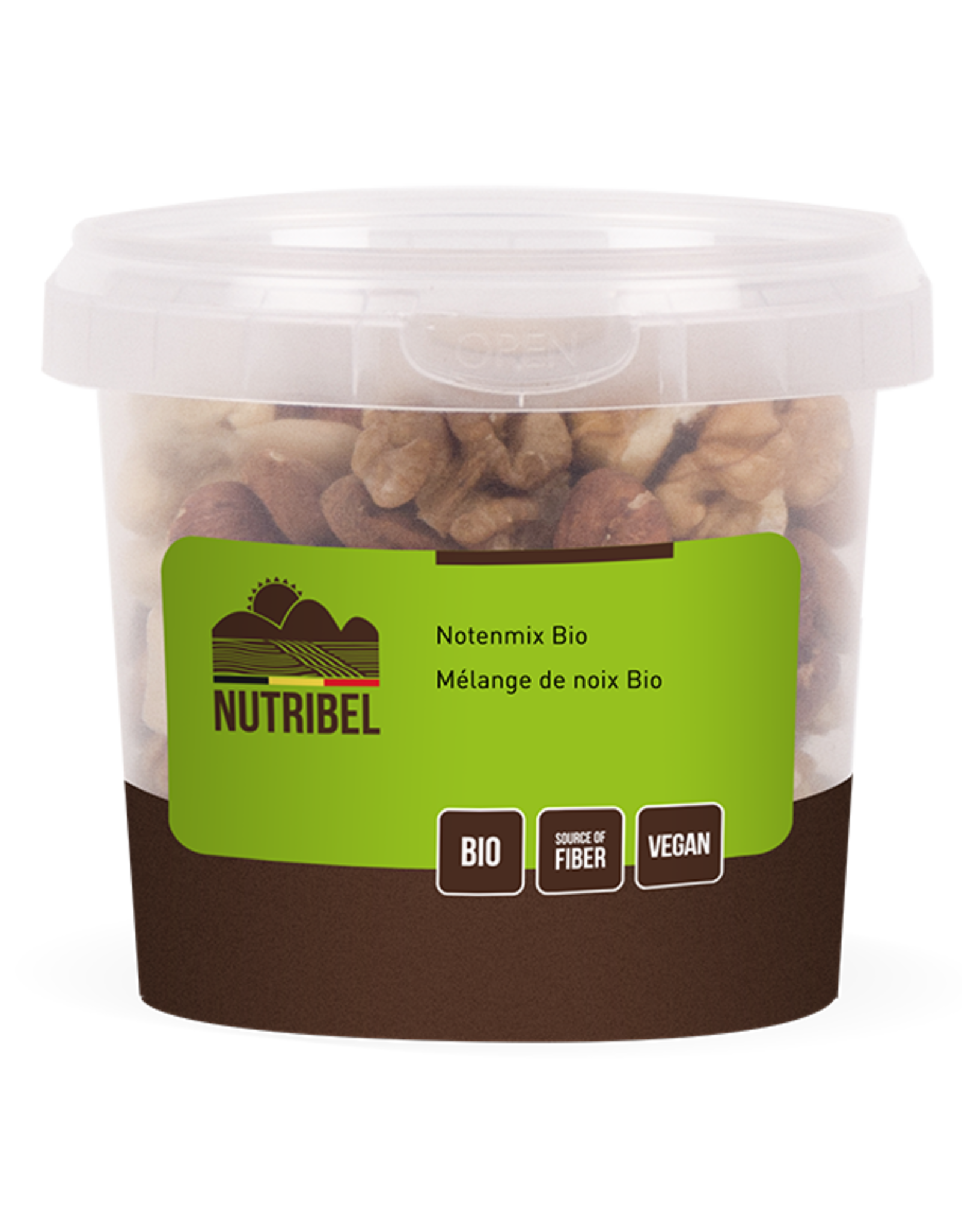 Nutribel Mélange de noix bio 190g