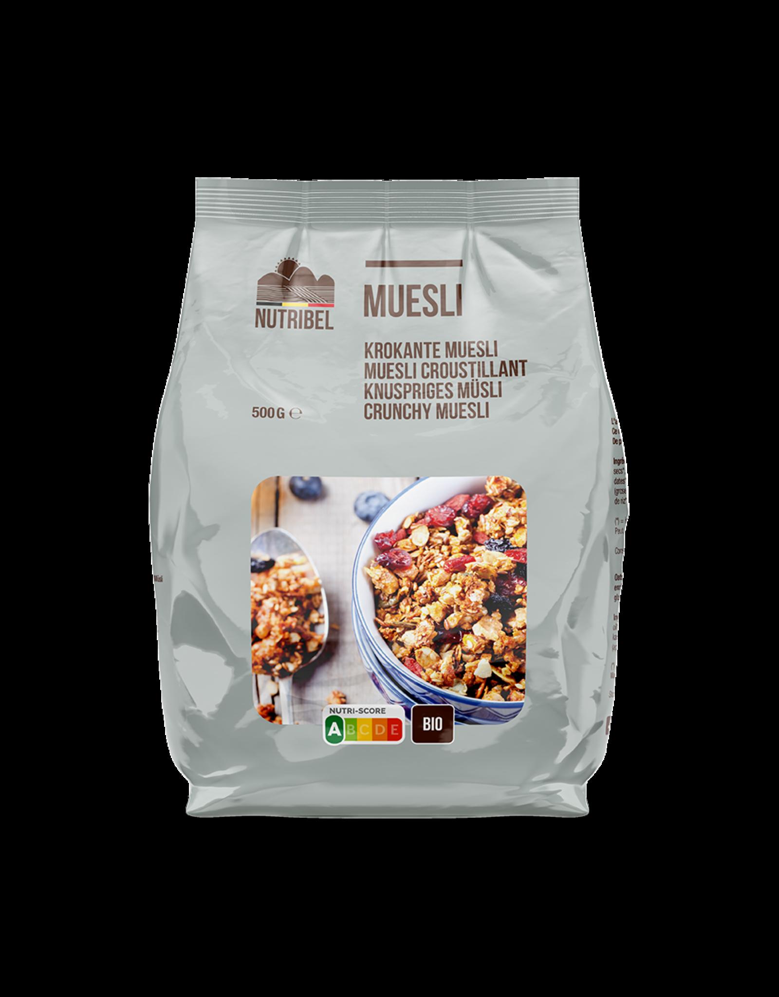 Nutribel Muesli croustillant superfoods bio 500g