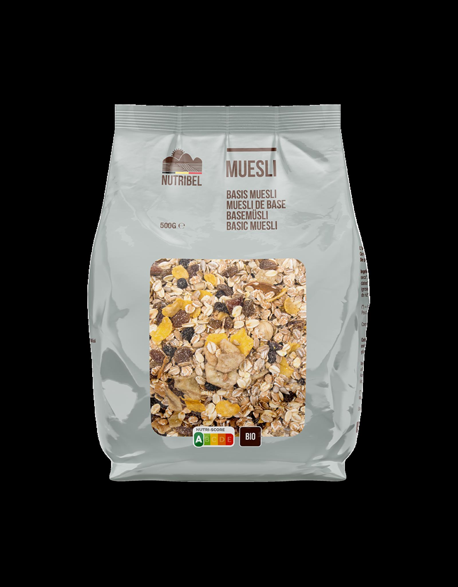 Nutribel Muesli basis bio 500g