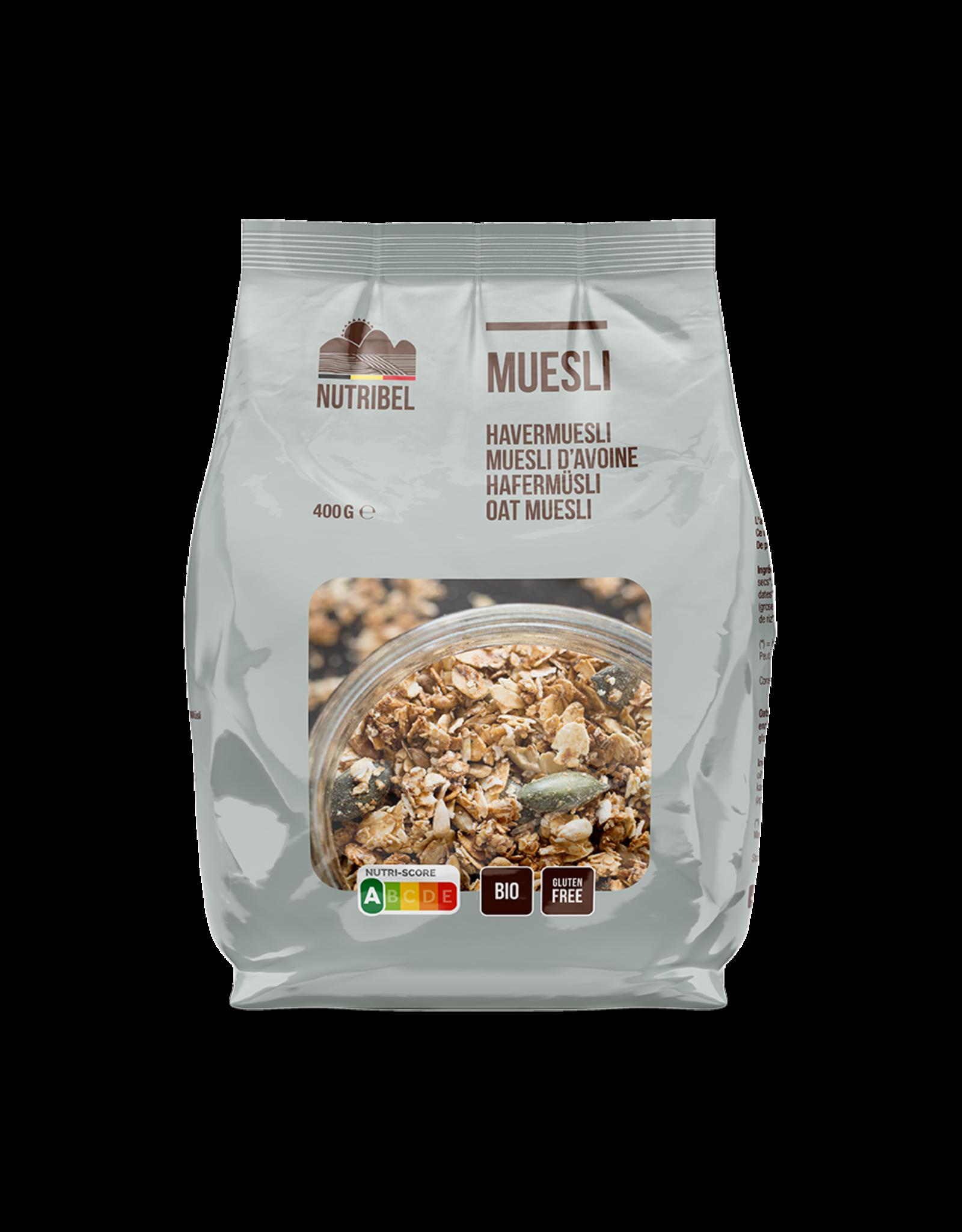 Nutribel Havermuesli bio & glutenvrij 400g