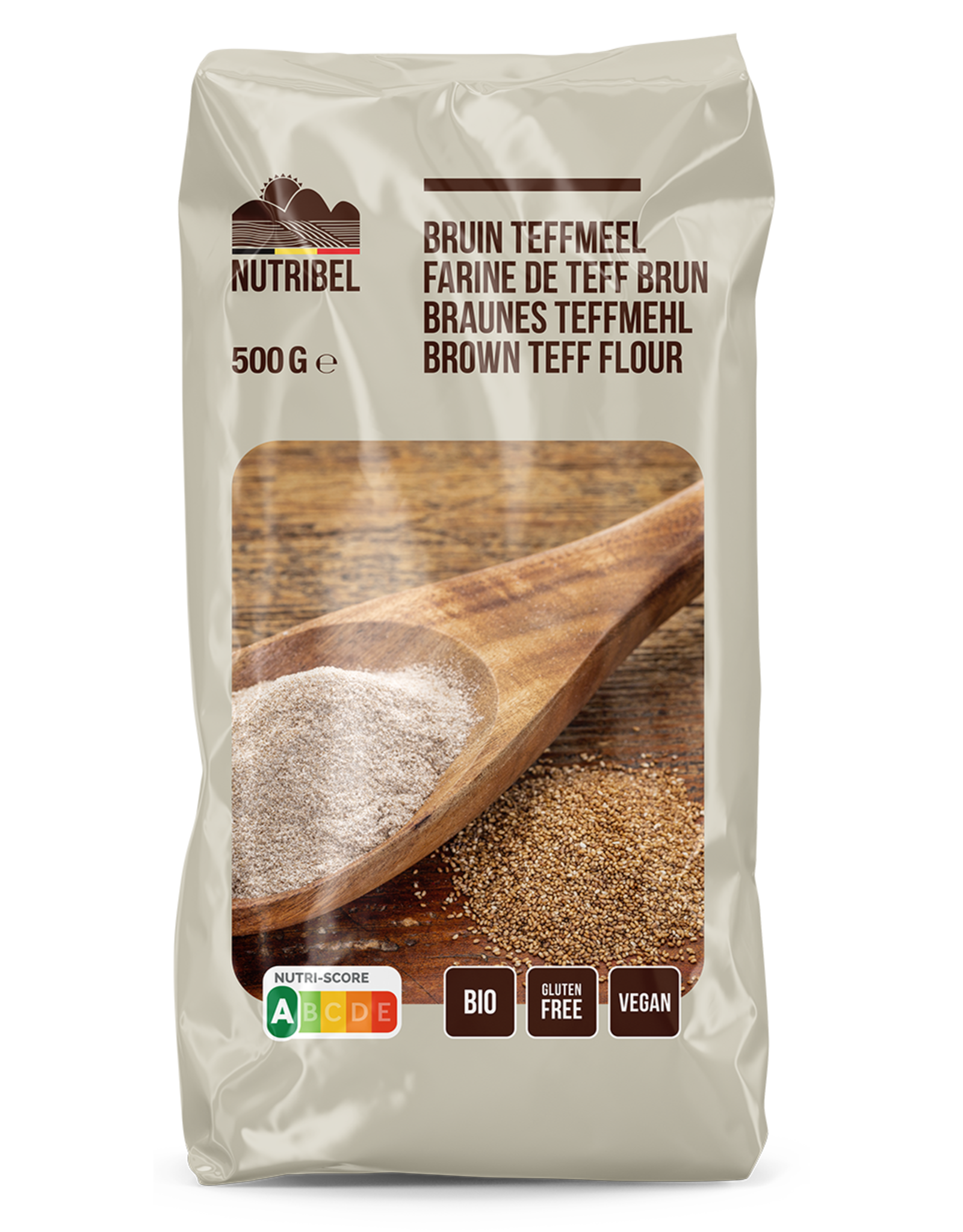 Nutribel Farine de teff bio & sans gluten 500g