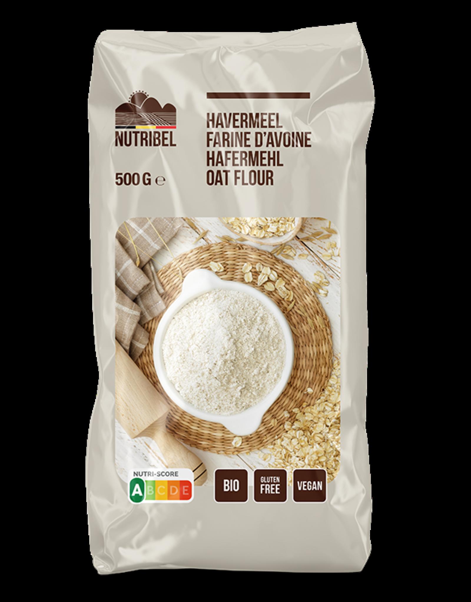 Nutribel Havermeel bio & glutenvrij 500g
