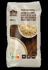 Nutribel Bruine rijstmeel bio & glutenvrij 500g